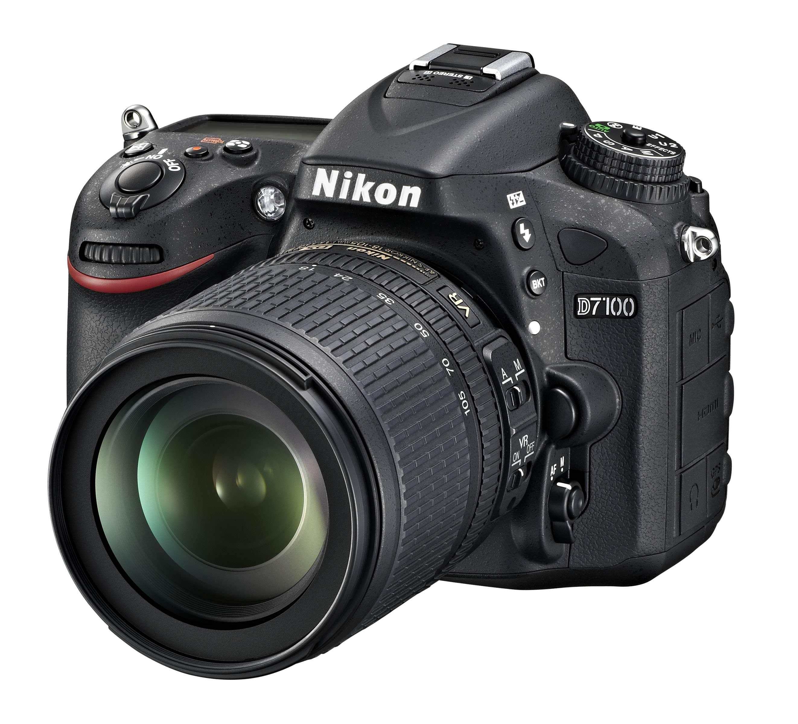 D7100 18 105 front34l.high image