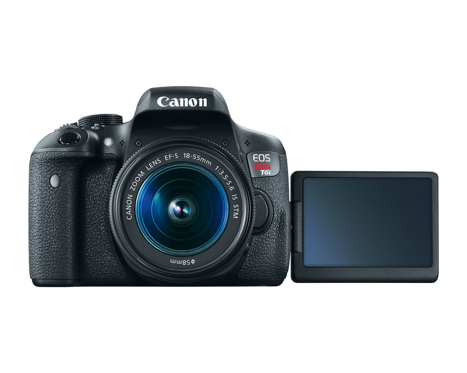 eos rebel t6i dslr camera front open hires image