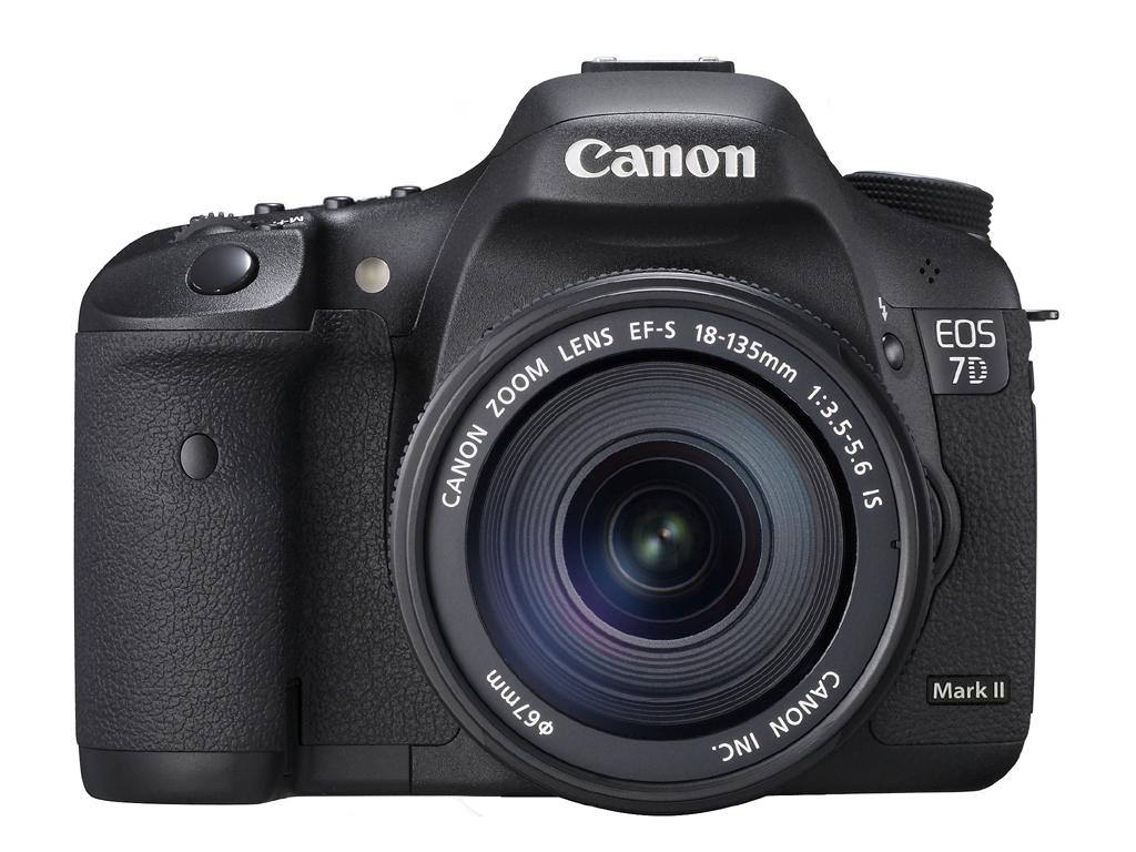 Canon EOS 7D makrk II ilustration image