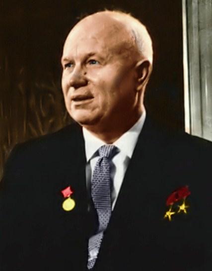 Nikita Khruchchev Colour image