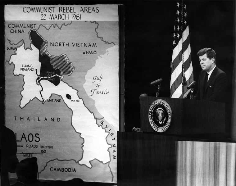 The Presidents News Conference 23 March 1961 image