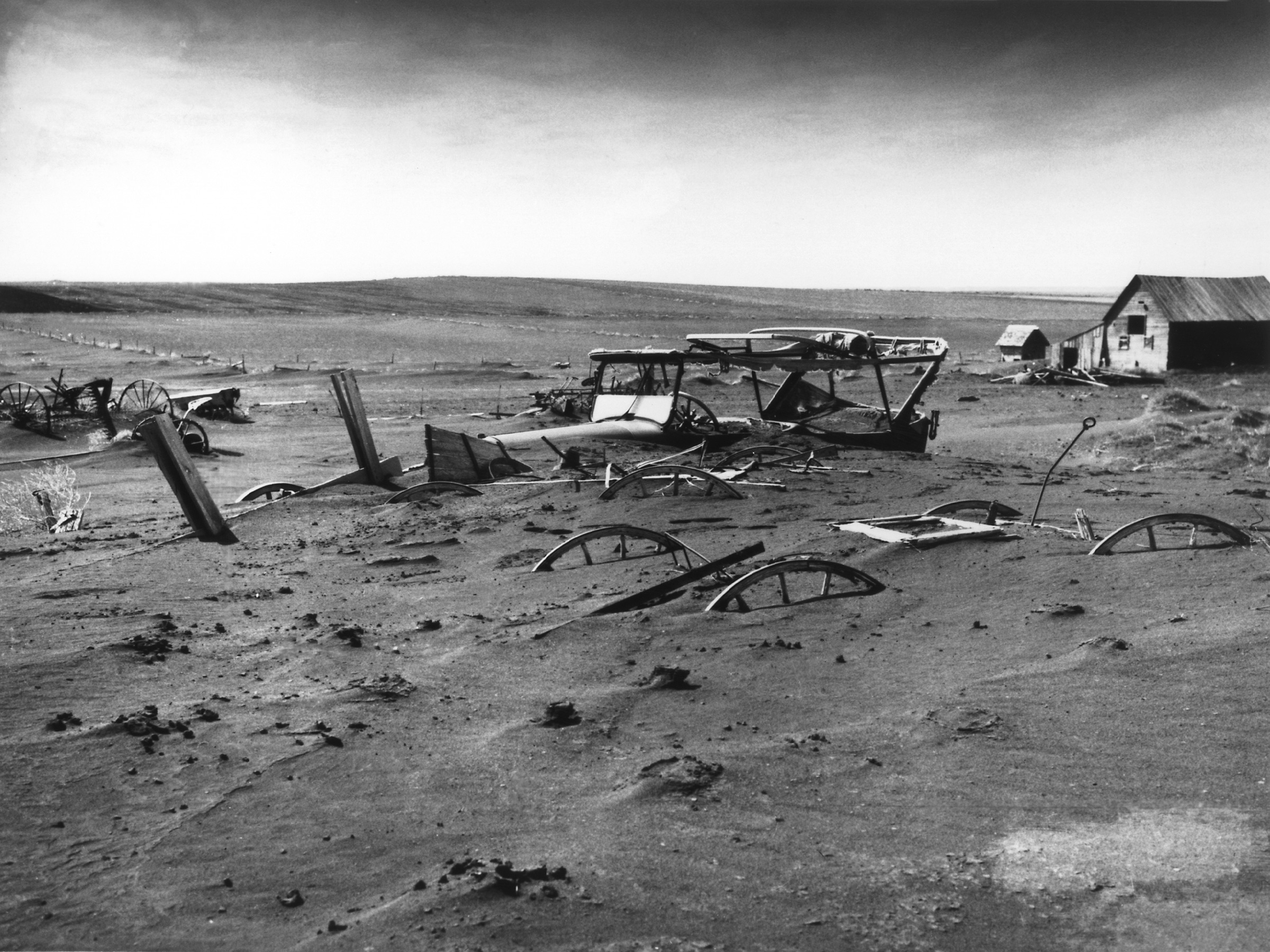 Dust Bowl Dallas South Dakota 1936 image