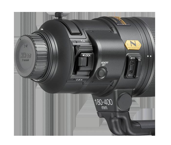 20071 AF S NIKKOR 180 400mm f4E TC1.4 FL ED VR back image