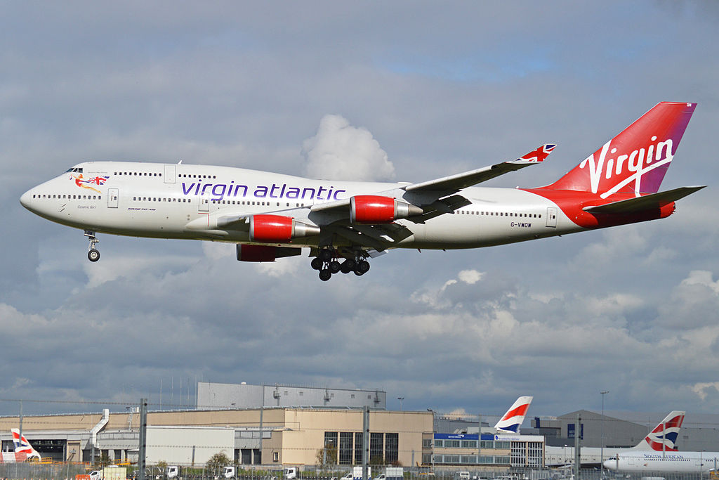 Boeing 747 41R G VWOW Virgin Atlantic 10446816025 image