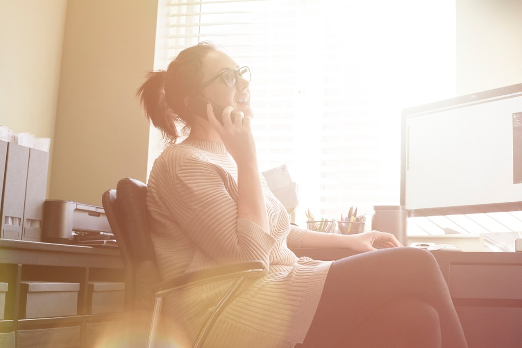 young woman working from home picture id516768814 image