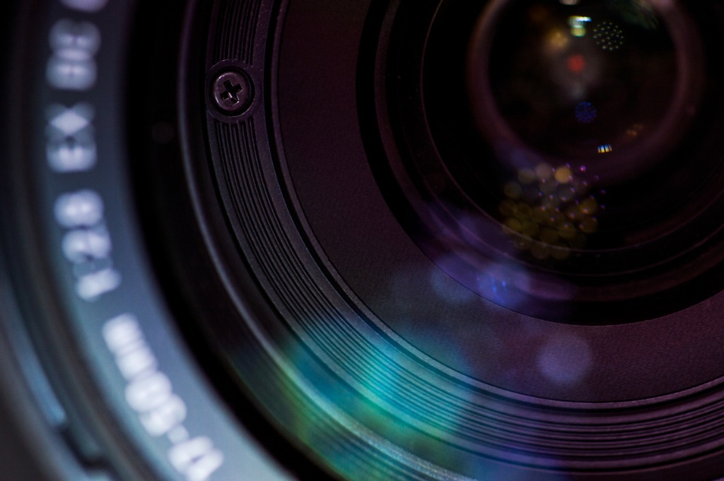 closeup of lense in modern digital camera picture id809883196 image