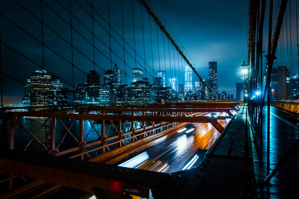 new york city from brooklyn bridge picture id655464688 image