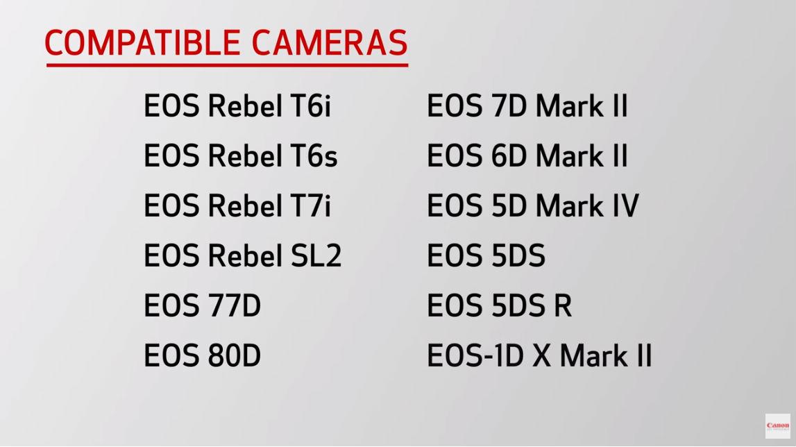 compatible cameras image