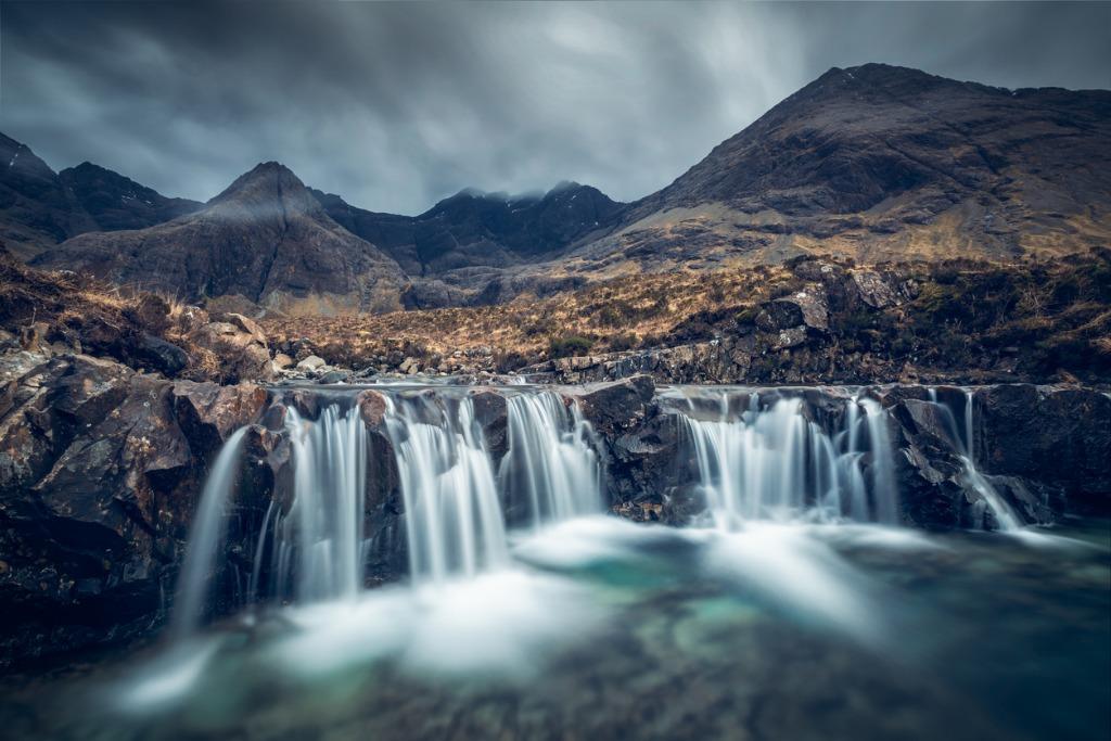 fairy pools glen brittle isle of skye scotland uk picture id687010498 image