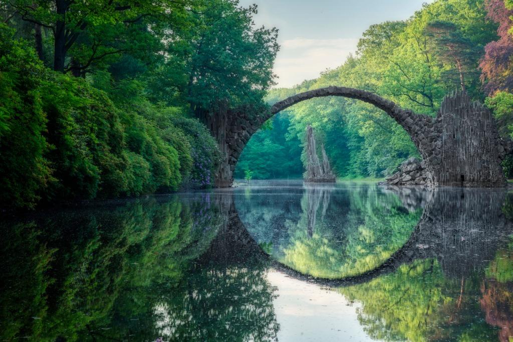 landscape photography composition image