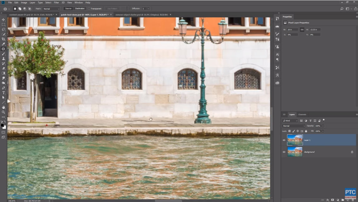 photoshop patch tool 4 image