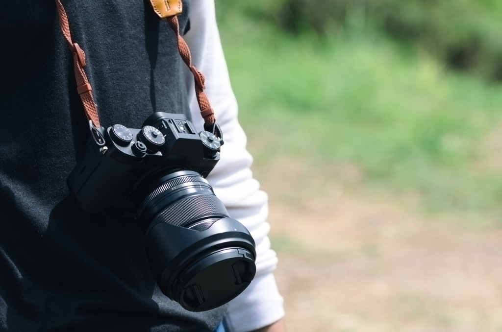 photographer with camera in selective focus picture id926155360 image