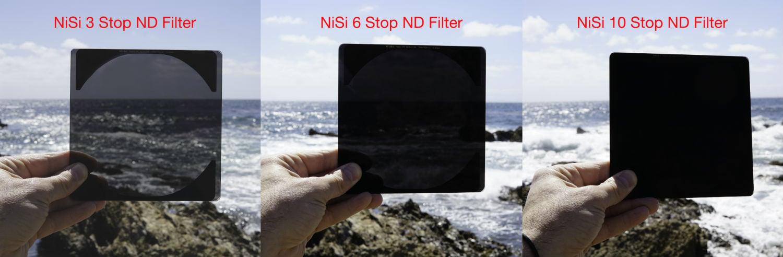 NiSi ND Filter Comparison image