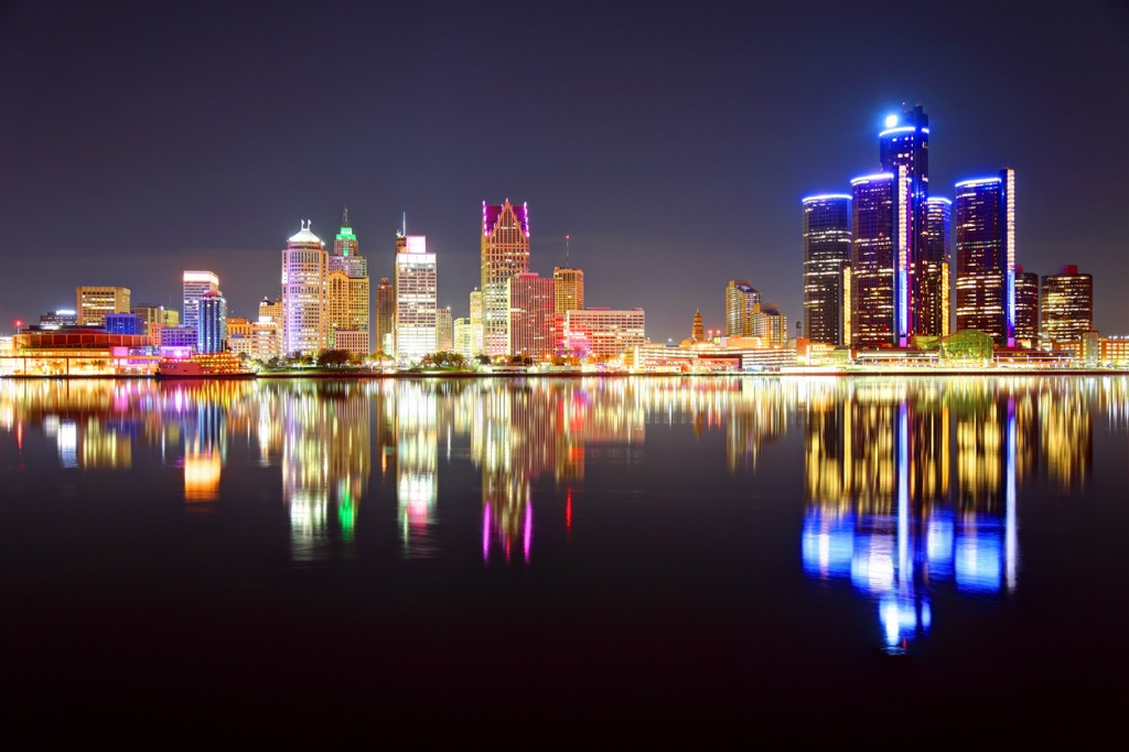 detroit michigan skyline picture id638482500 image