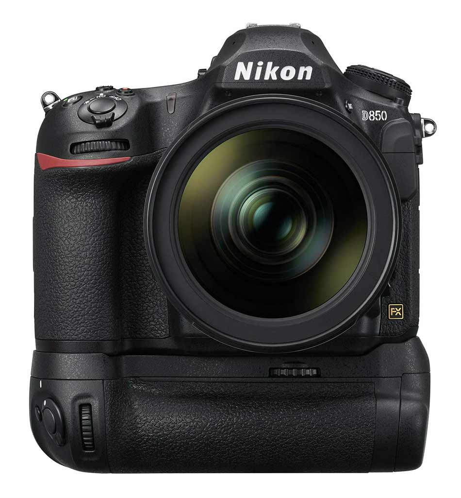 nikon d850 body with lens image