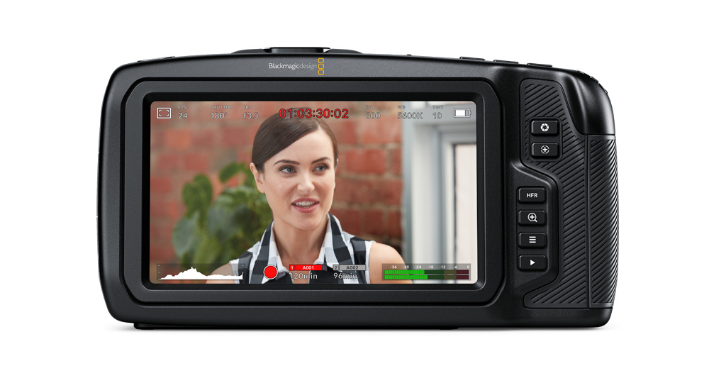 3 blackmagic pocket cinema camera 4k image