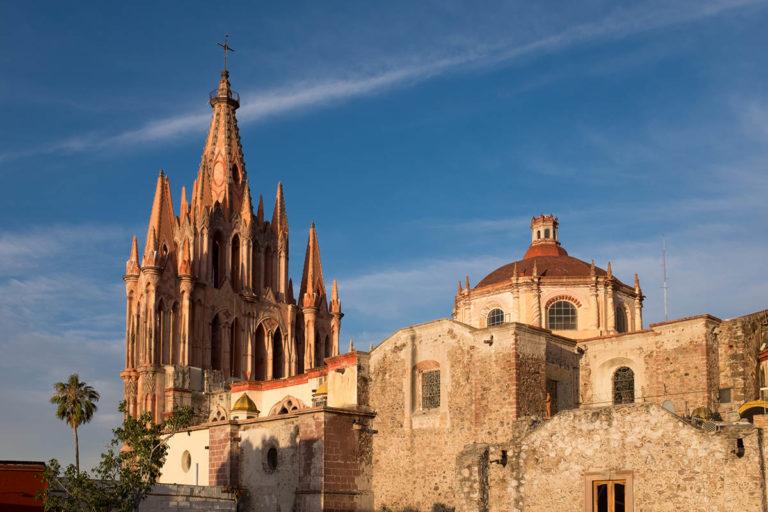 san miguel de allende cathedral image