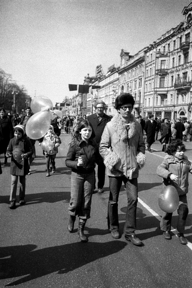 leningrad nevsky prospekt 1976 image