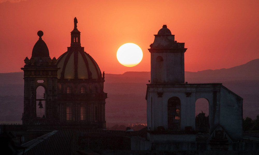 san miguel sunset image