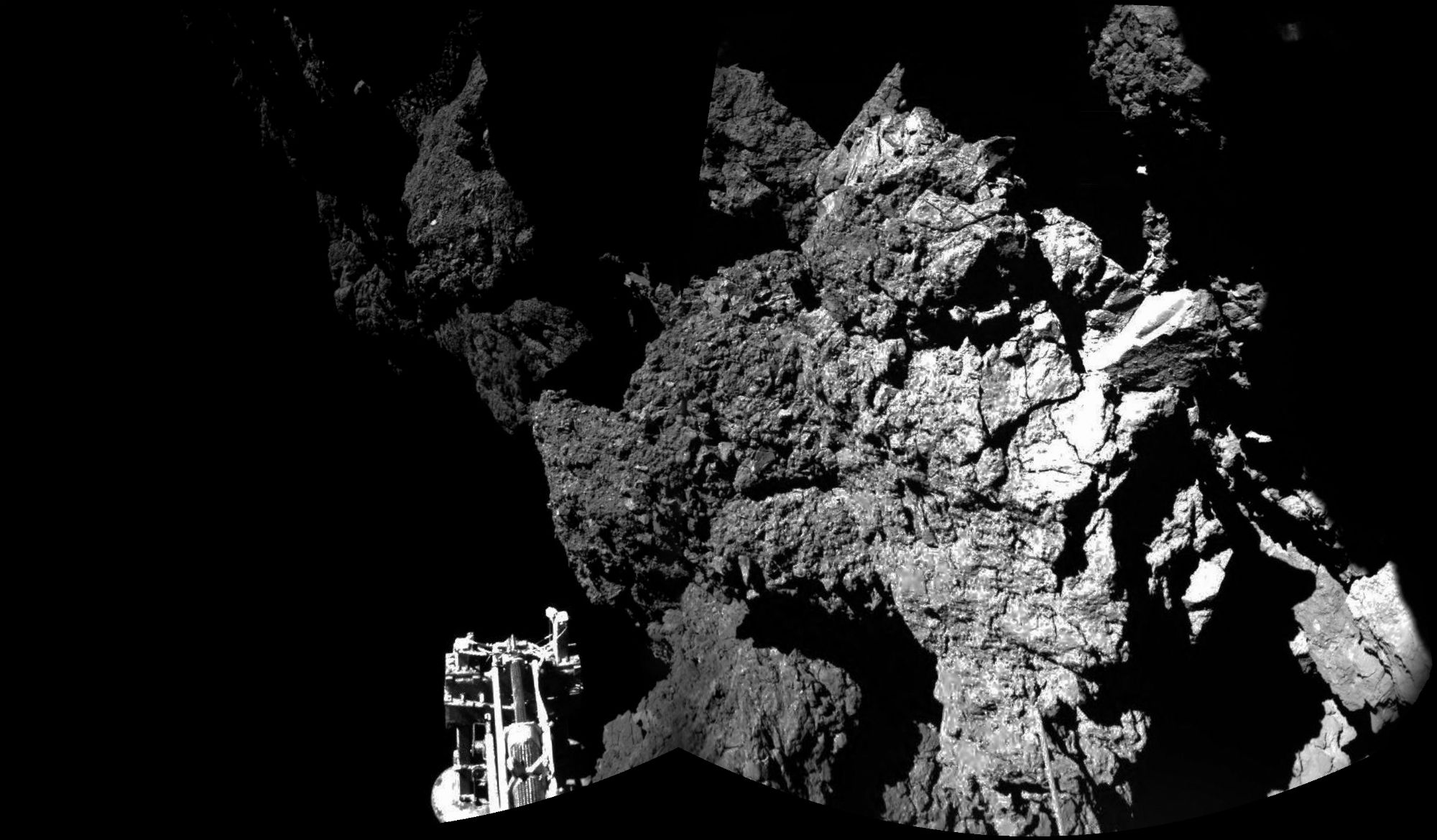 Welcome to a comet image