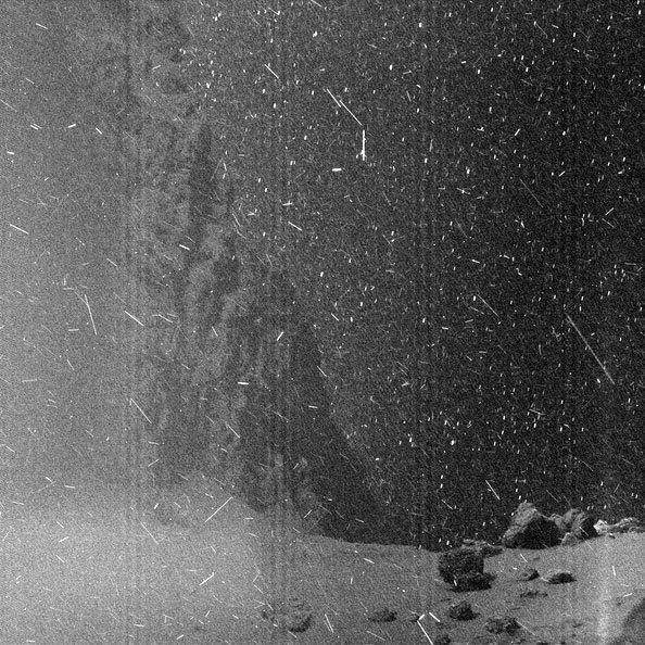 rosetta comet image image