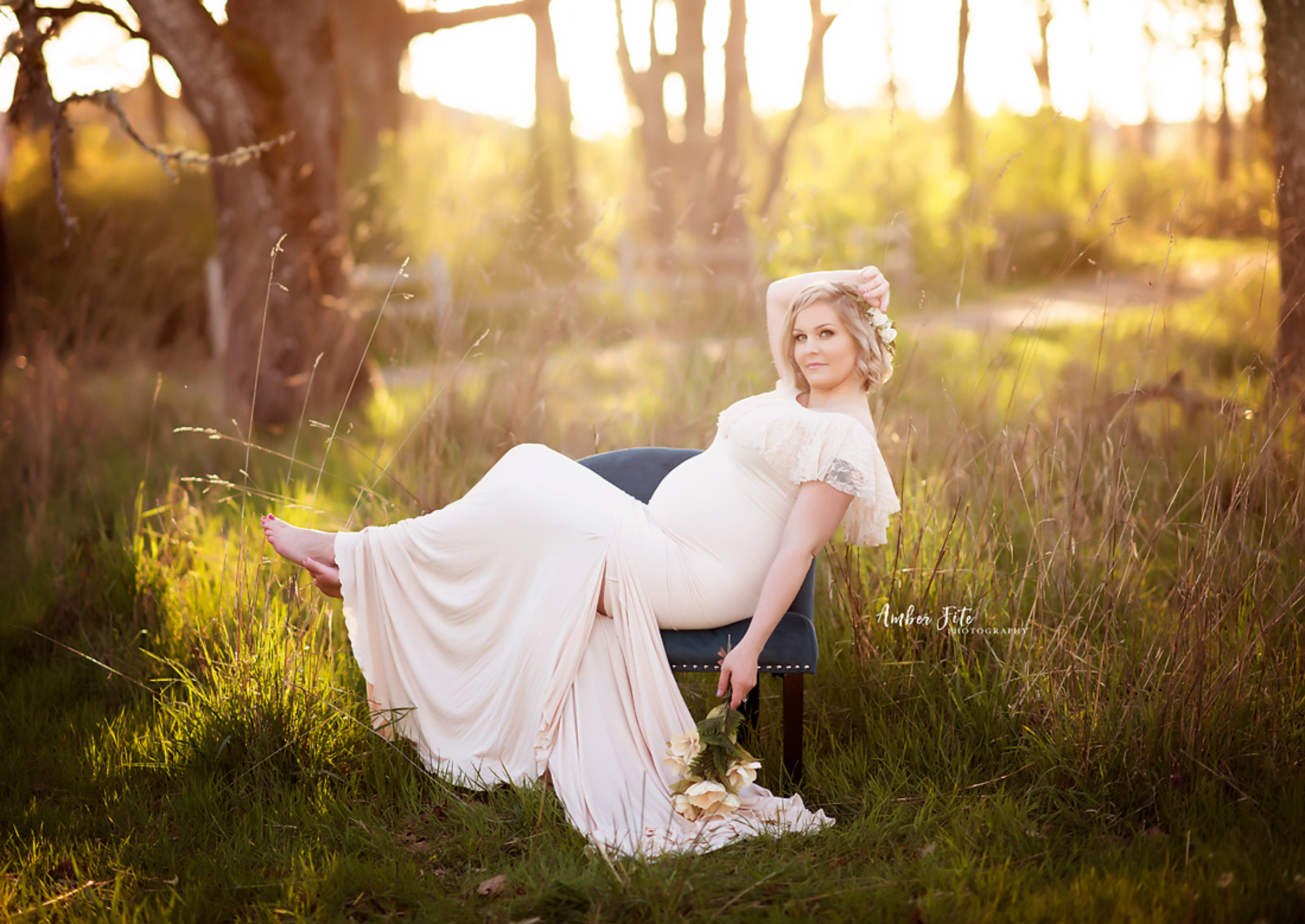 spring maternity photography ideas image