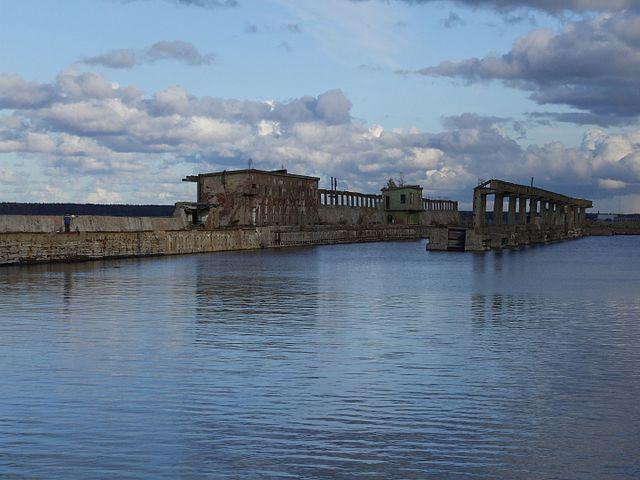 Hara submarine base 2009 image
