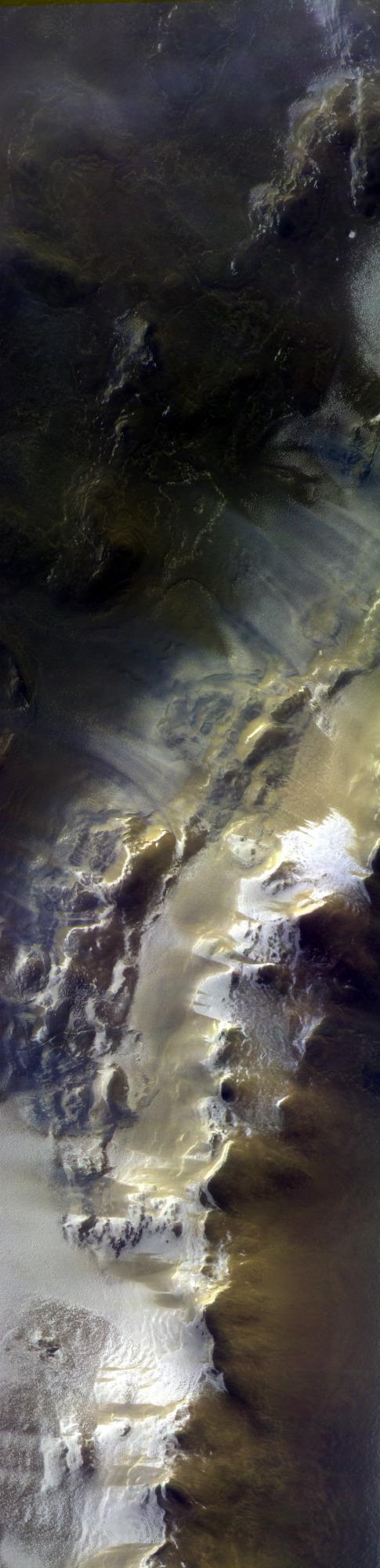 ExoMars images Korolev Crater Full image