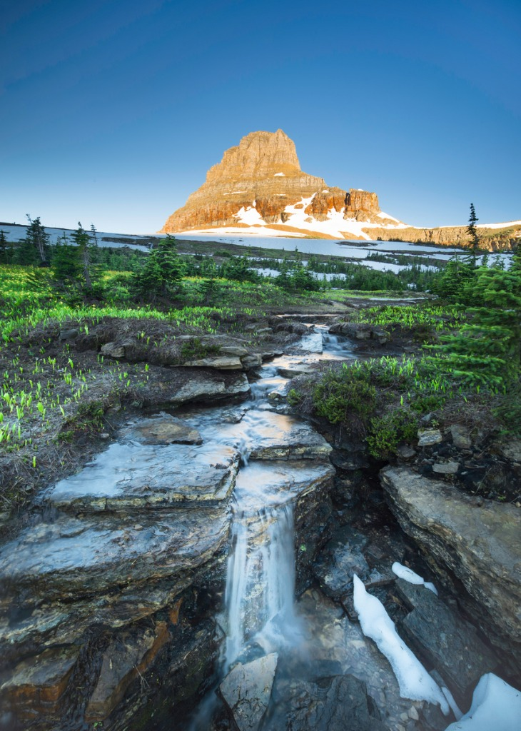 reynolds mountain at logan pass glacier national park picture id816518900 image