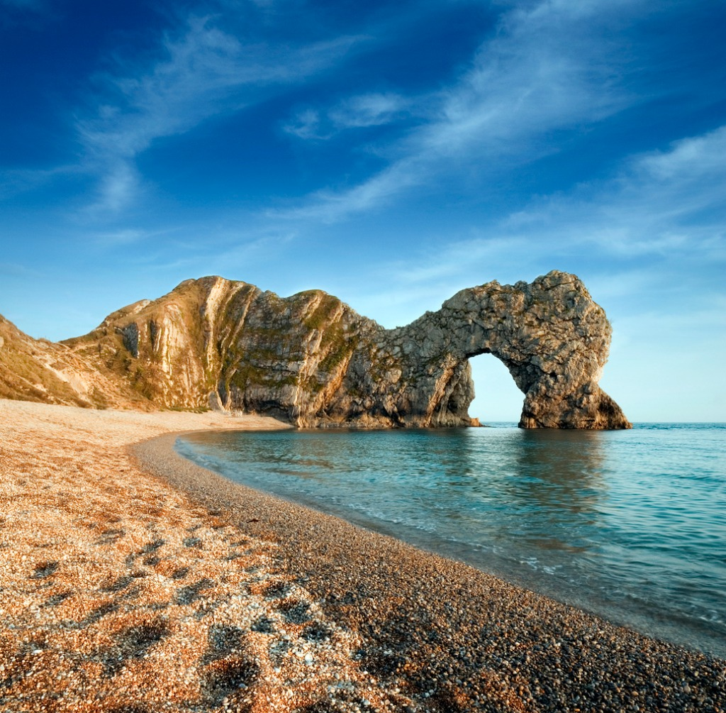 late evening at durdle door picture id175428086 image