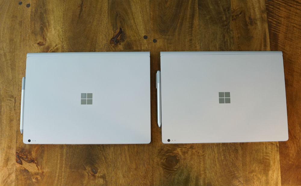 surface book vs surface book 2 exterior image