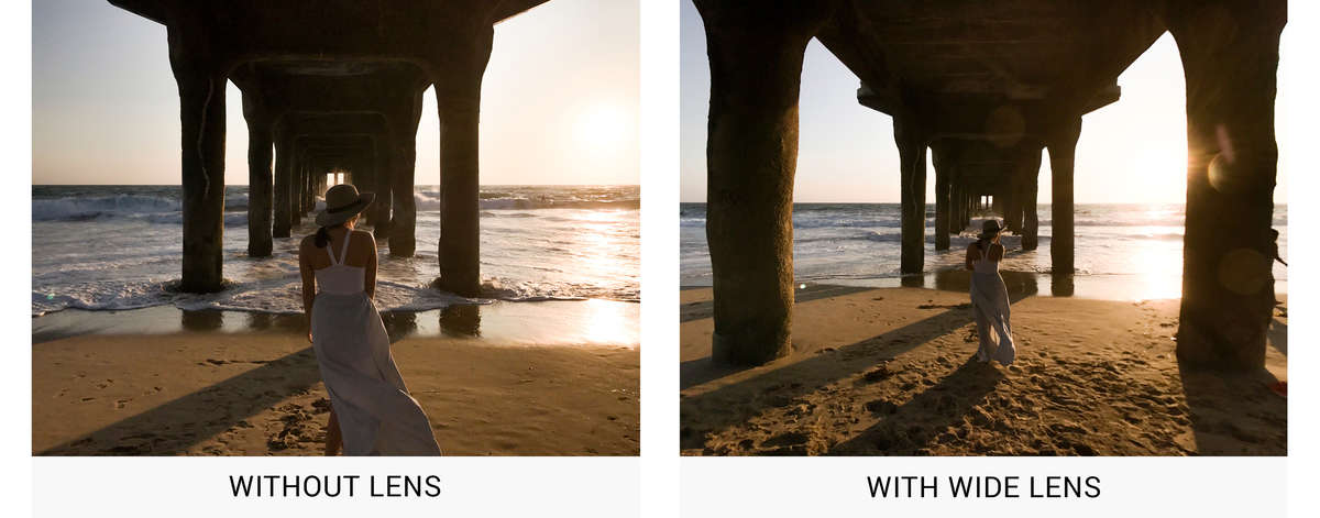 w1200 9c3f Before After Lens iPhone Lens Wide White image