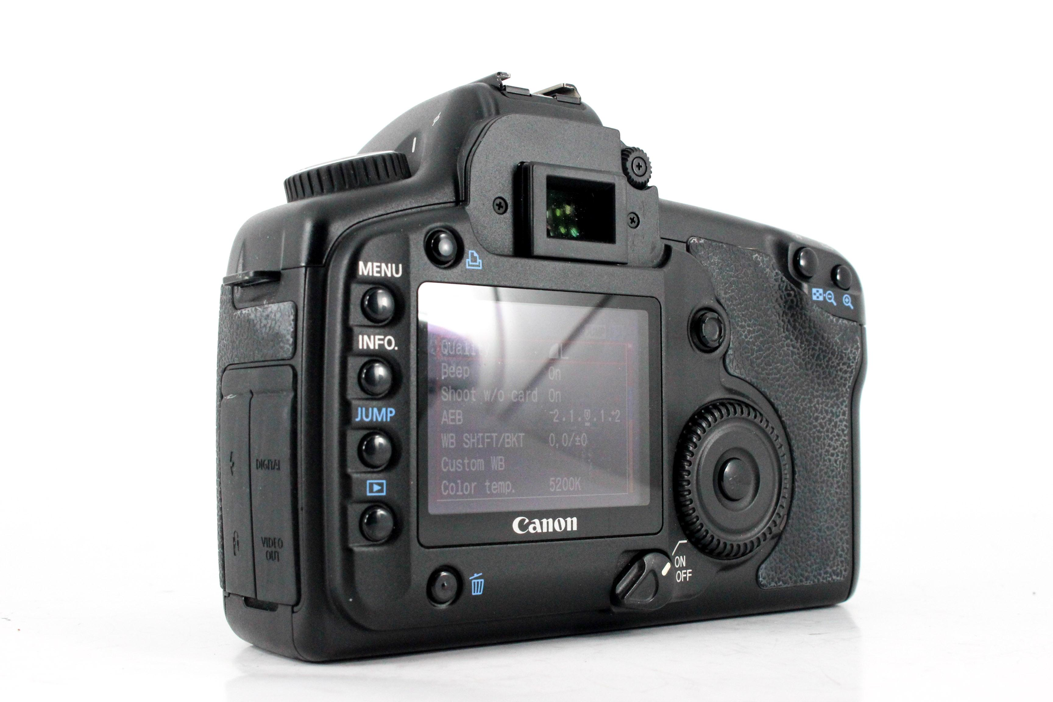 canon 5d back image