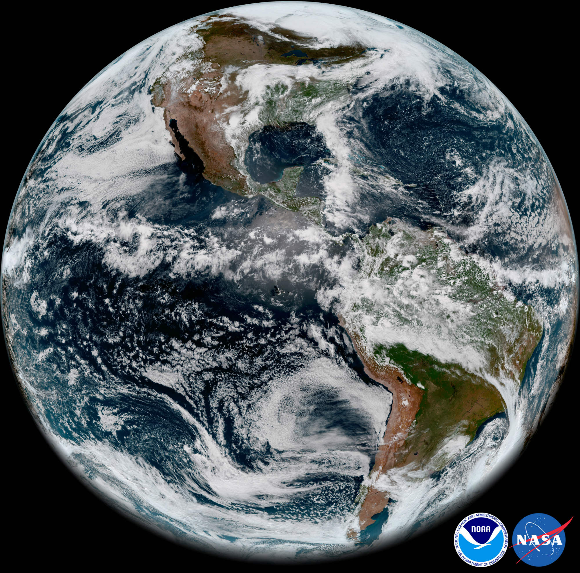 goes 17 satellite photos image