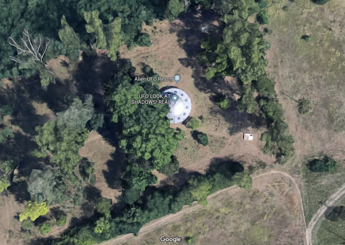 weird google maps photos image