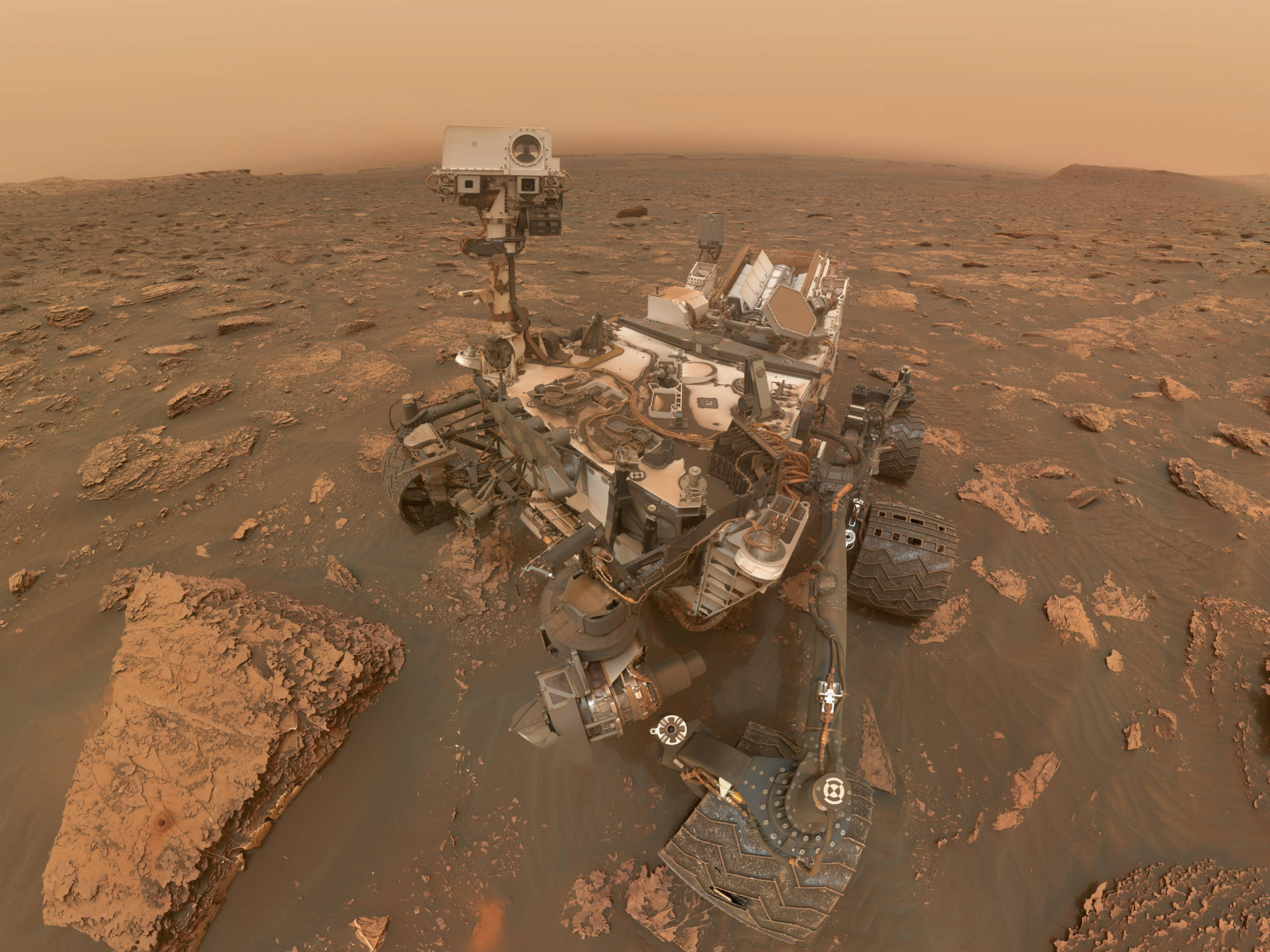 mars curiosity dust storm cropped image