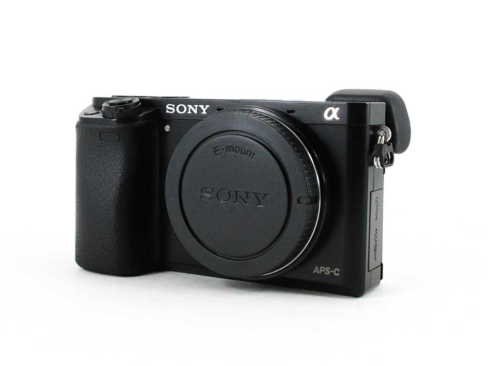 sony a6000 front image