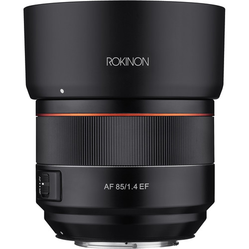 rokinon 85mm f1.4 front image