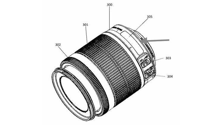 canon 18 55mm lens patent image