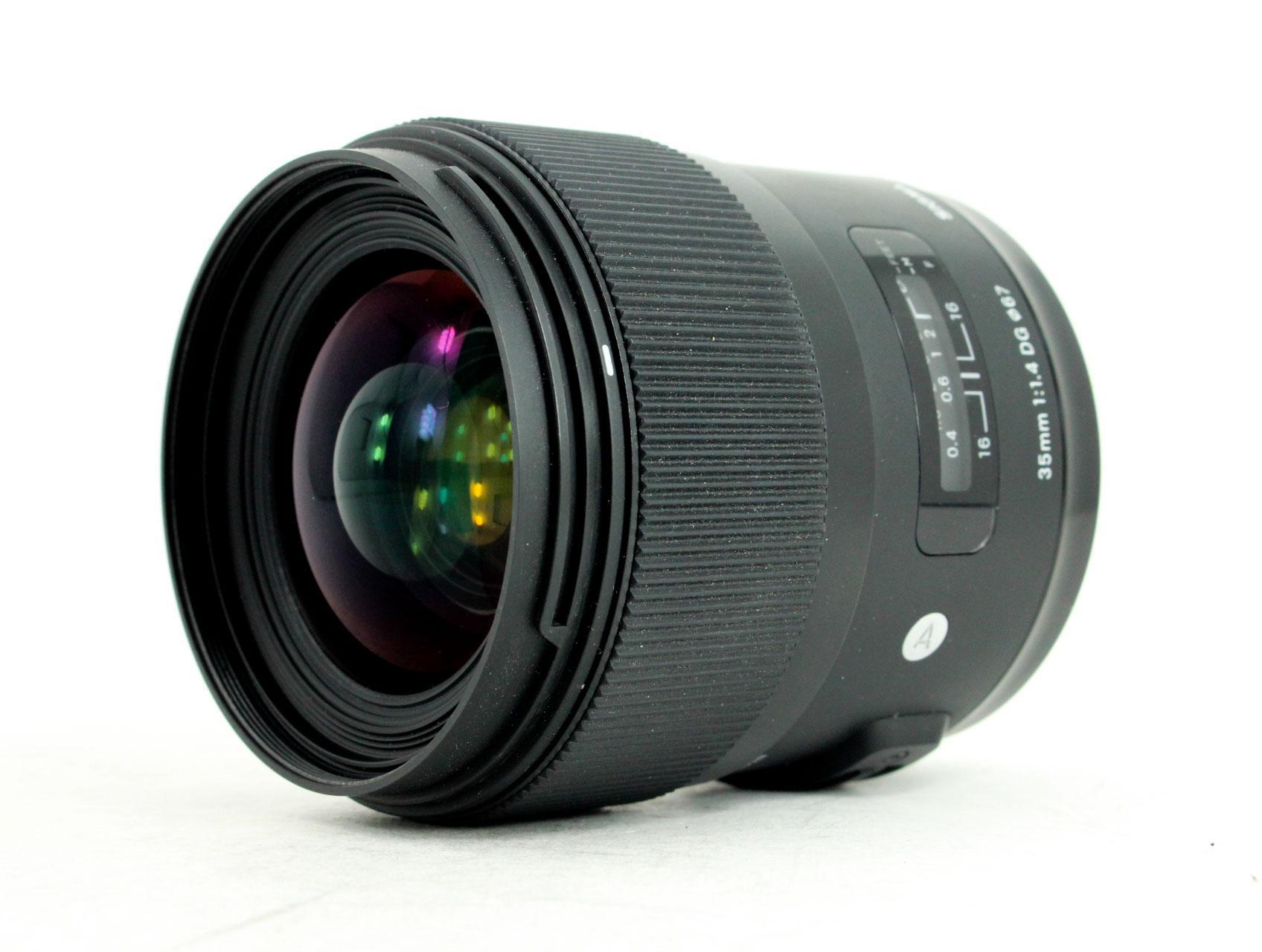 35mm vs 50mm lens image