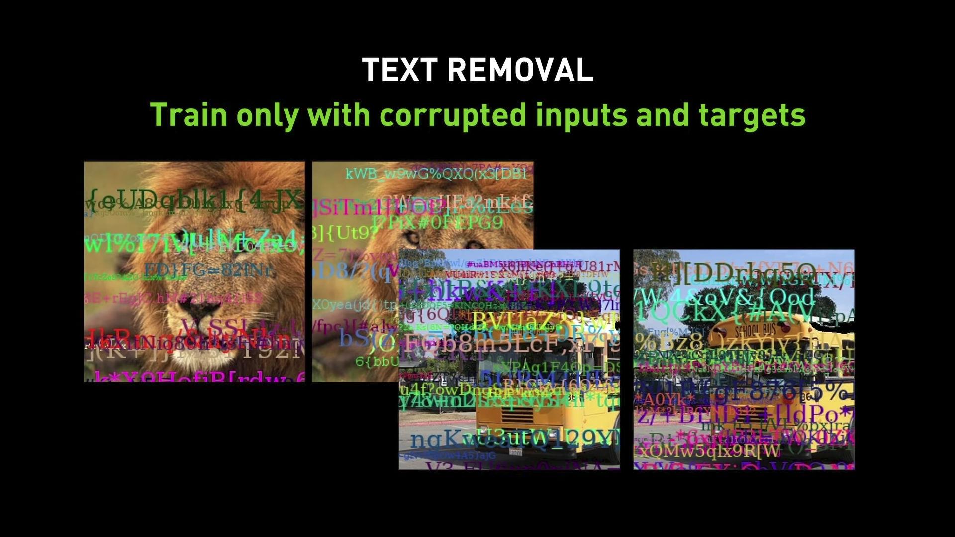 nvidia ai watermark removal image