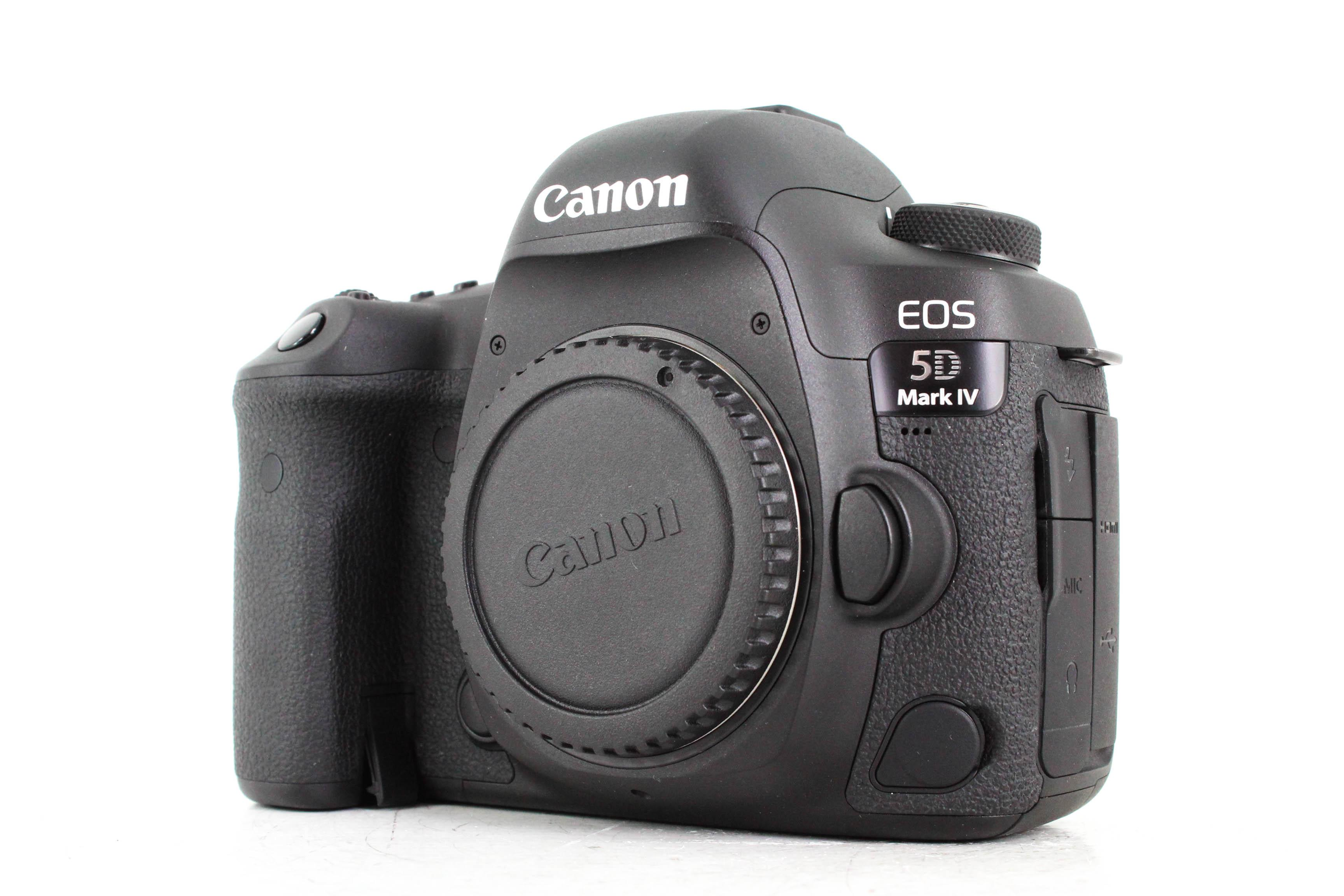 canon 5d mark iv front image