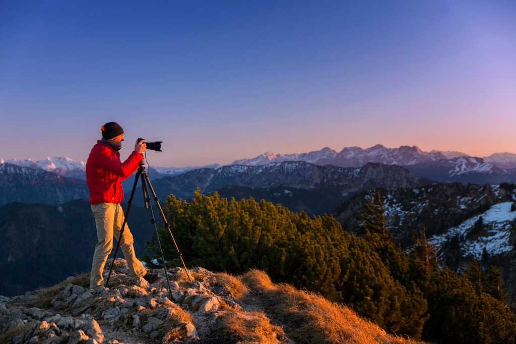 nature photographer in the alps picture id502611528 image
