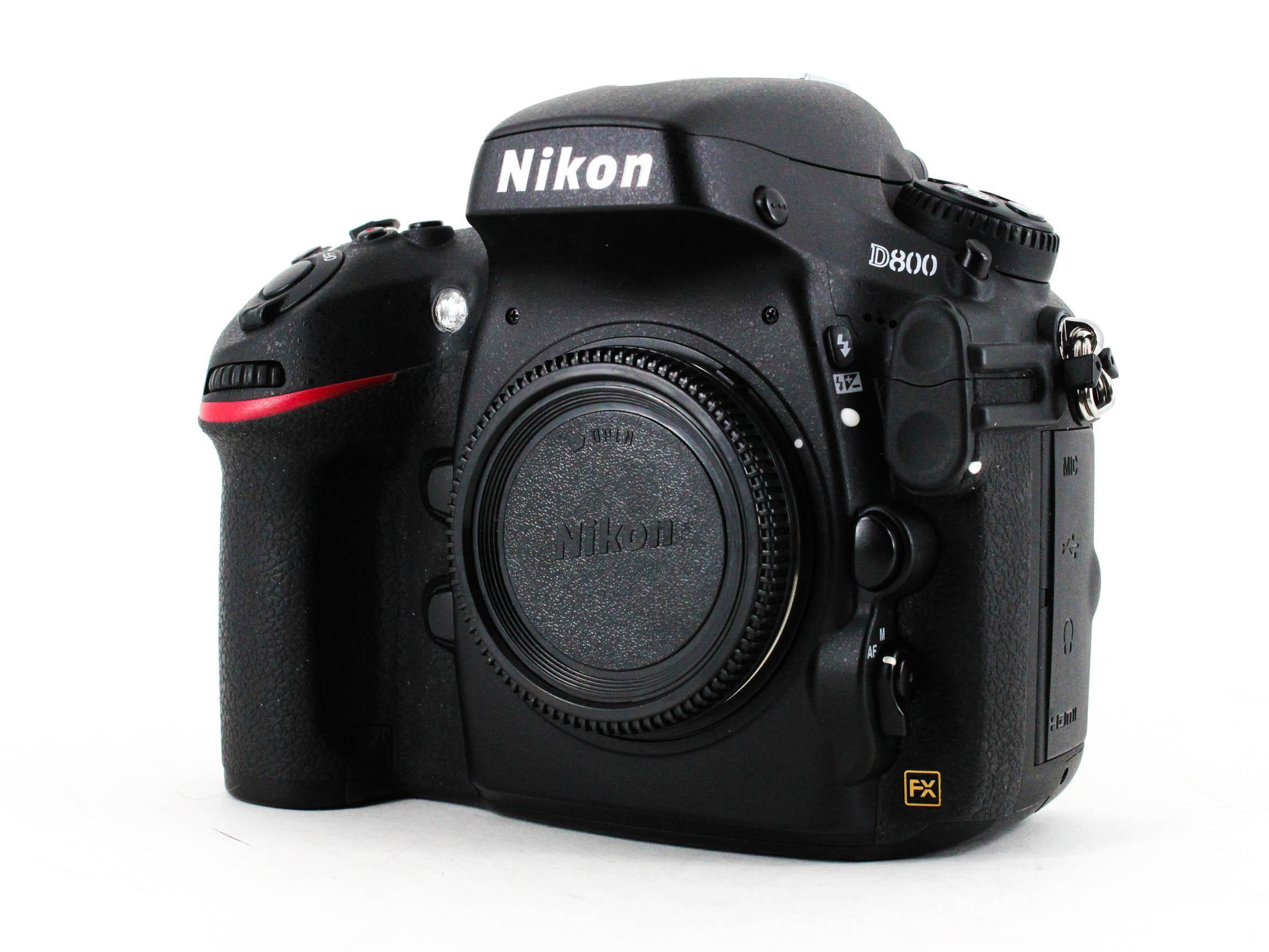 nikon d800 front image