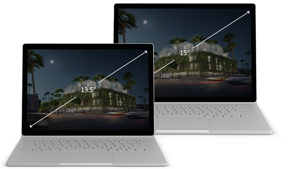 microsoft surface book 2 front