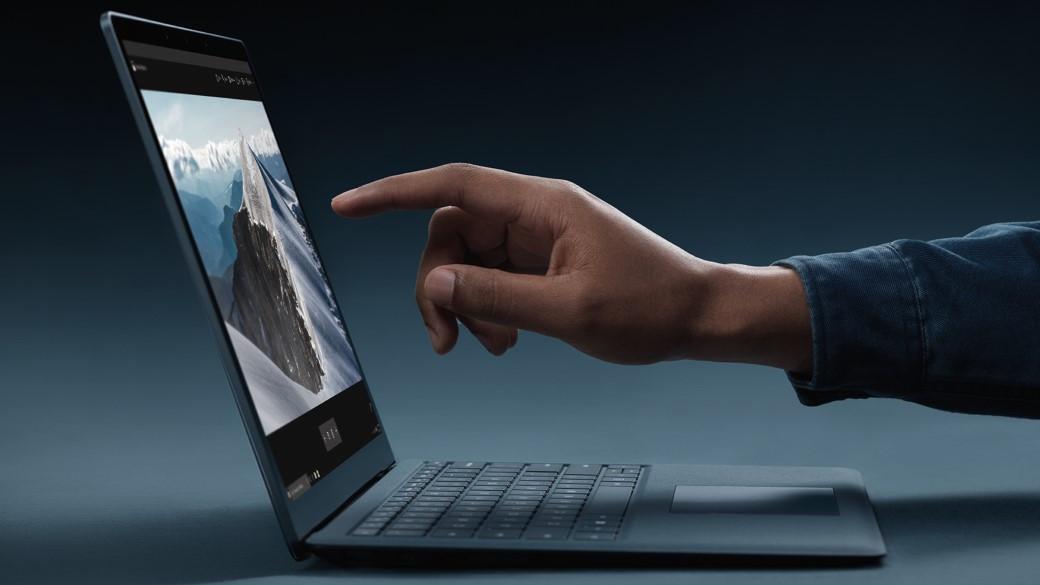 microsoft surface laptop screen