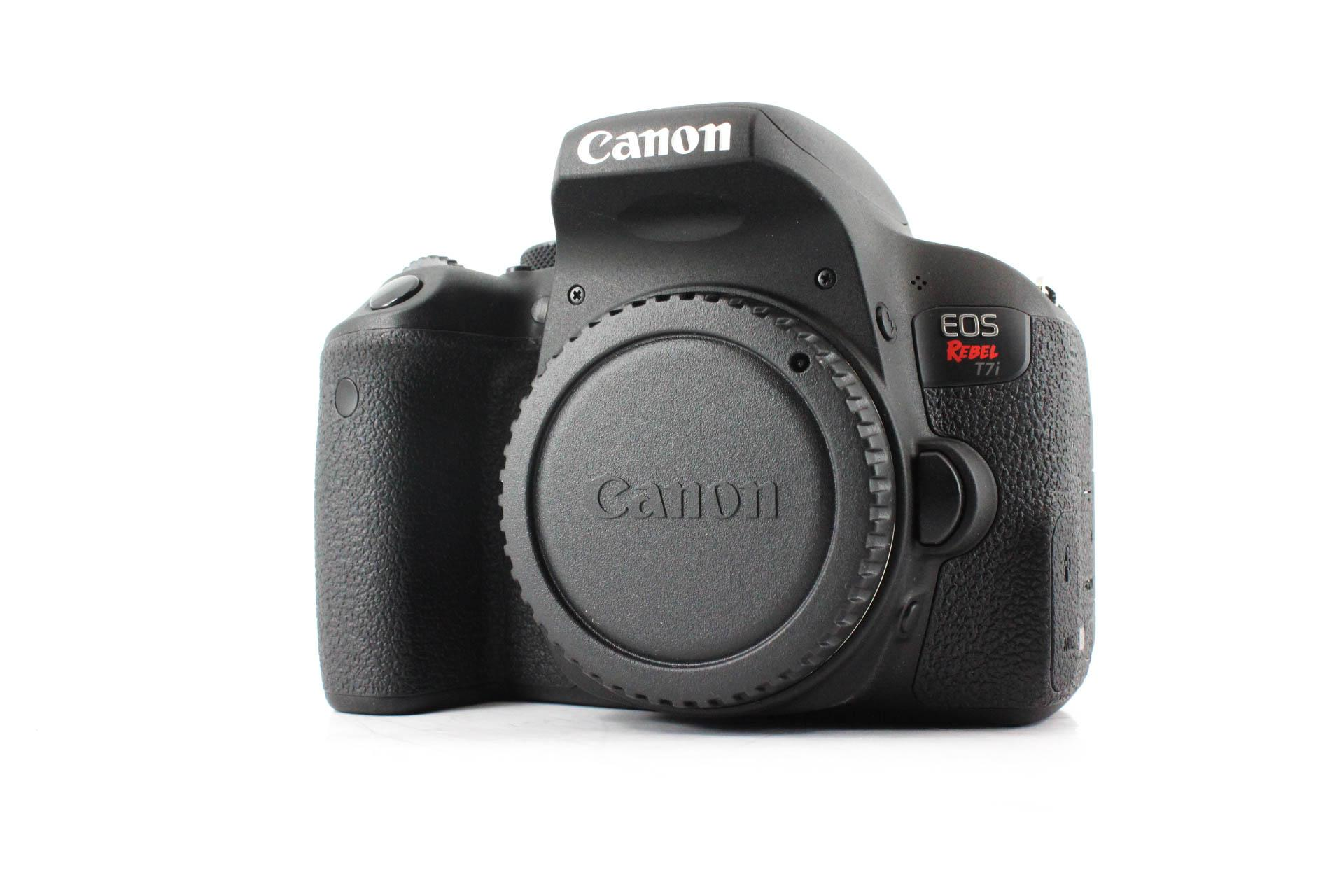 canon t7i front image