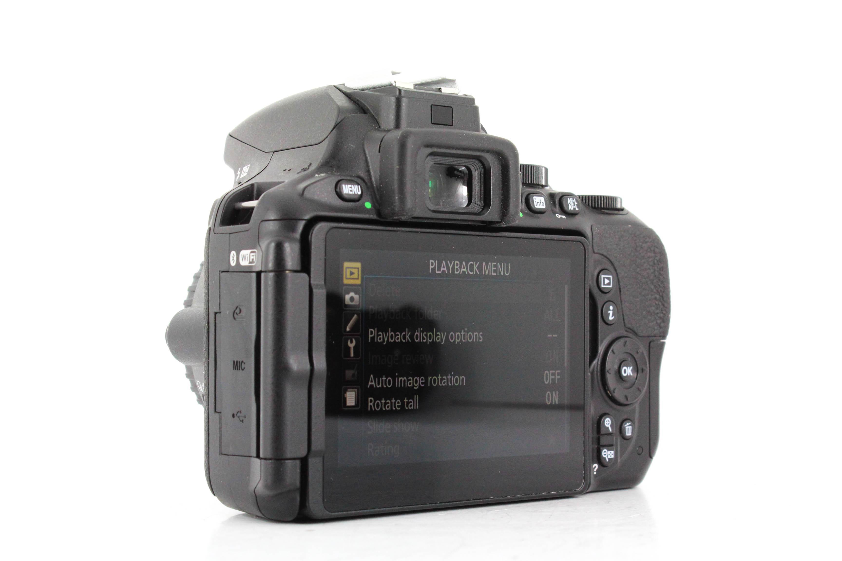 nikon d5600 back image