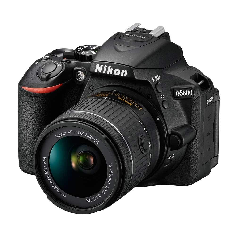 nikon d5600 with kit lens image