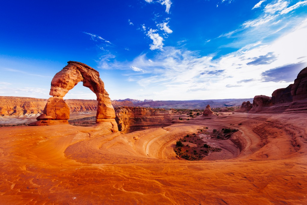 delicate arch arches national park utah usa picture id495604721 image